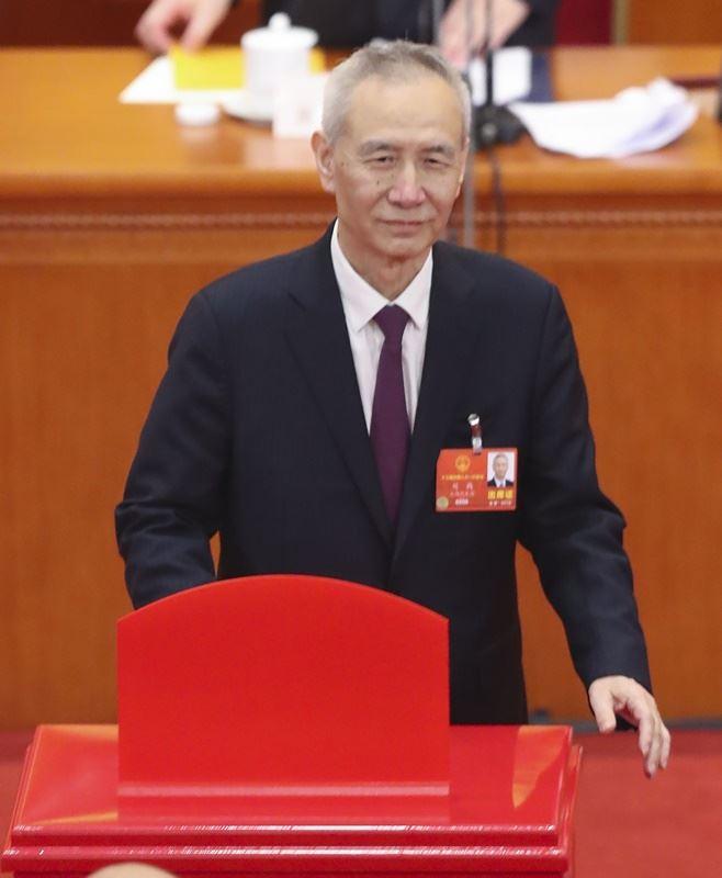 圖為中國國務院副總理劉鶴。(檔案照片/中新社提供)