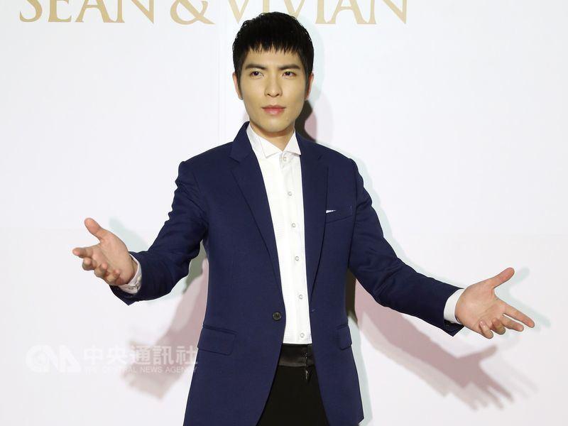 昔日被封「省話一哥」的歌手蕭敬騰,將跨界主持今年金曲獎頒獎典禮。(中央社檔案照片)