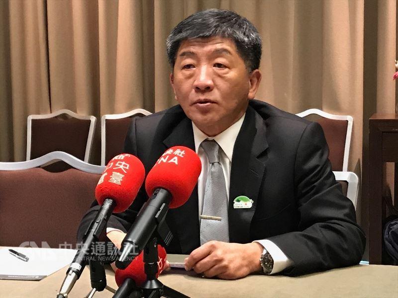 衛生部長陳時中23日表示,中國在世界衛生大會(WHA)中說照顧台灣是說謊,中國一貫伎倆就是透過謊言掩蓋事實。中央社記者唐佩君日內瓦攝 107年5月24日