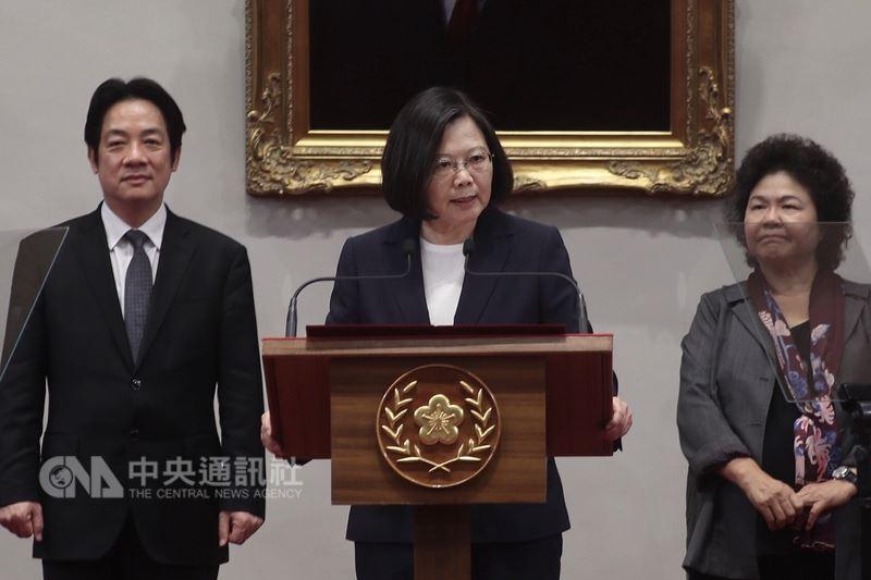 蔡總統:中國蠻橫作為 我們不會再忍讓