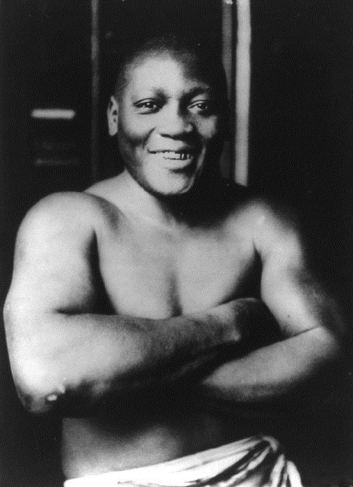 美國總統川普24日特赦已故的首位非裔世界重量級拳王傑克強生。(圖取自維基共享資源,版權屬公眾領域)