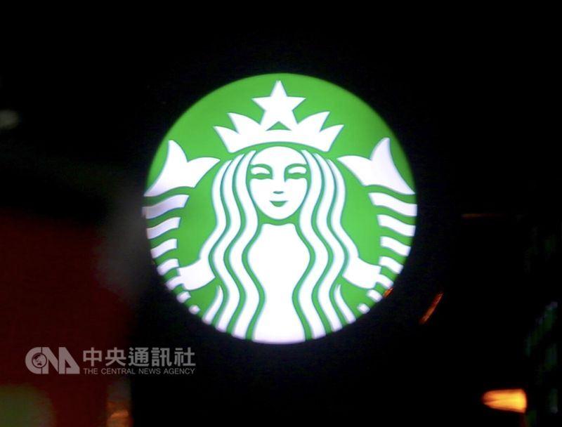 連鎖咖啡品牌星巴克(Starbucks)全美8000多家門市29日將歇業半天,展開員工教育訓練。圖為星巴克商標。(中央社檔案照片)