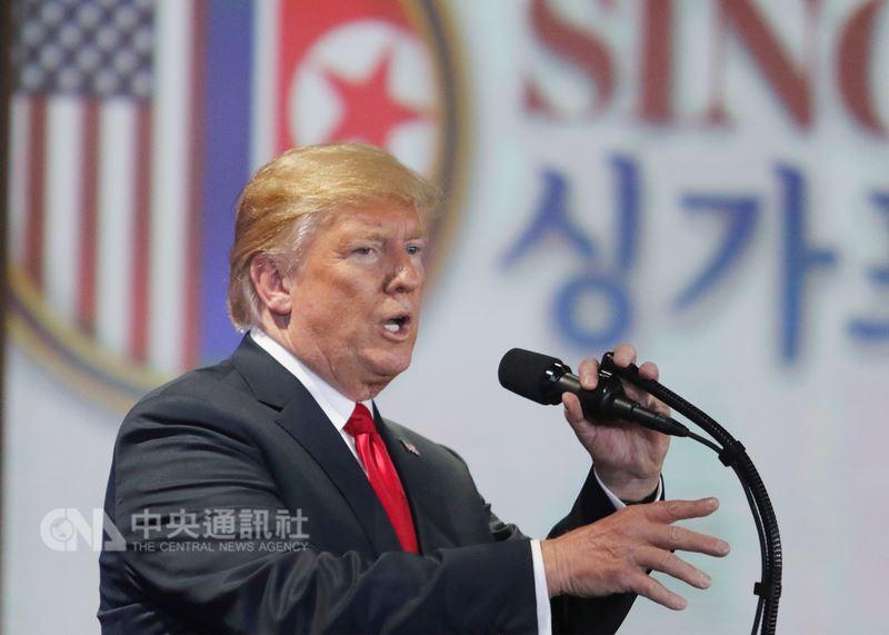 美國總統川普12日宣布,打算停止與南韓的聯合軍事演習,讓南韓及美國的軍事官員都相當訝異。(中央社檔案照片)