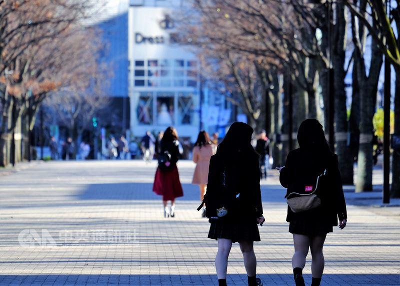 日本參議院13日通過成人年齡由20歲降至18歲的民法修正案。(中央社檔案照片)