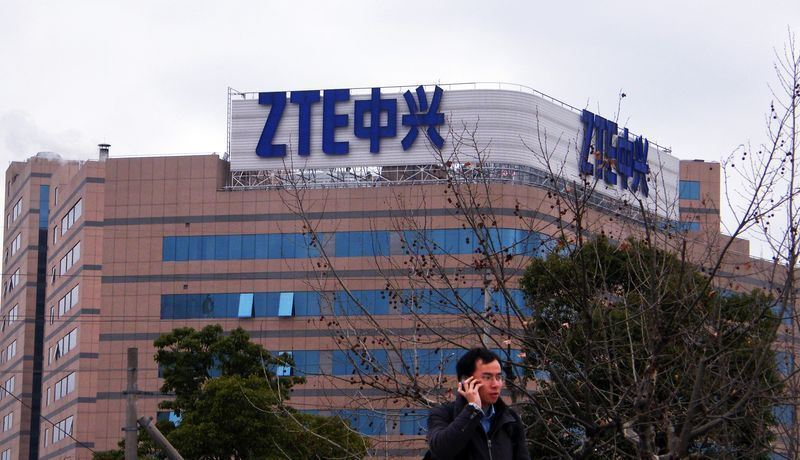 中國大陸中興通訊公司股票13日恢復交易。(檔案照片/中新社提供)