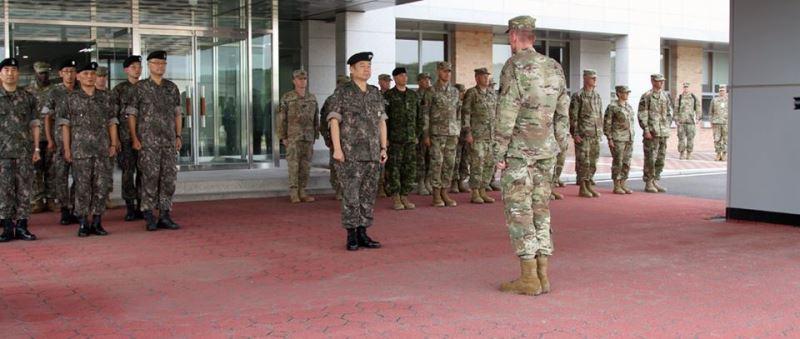 美國政府一名高階官員表示,美國國防部預料將取消原定8月舉行的美韓聯合軍事演習。圖為2017年乙支自由衛士軍演。(圖取自I Corps臉書www.facebook.com)