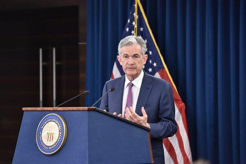 美国联邦准备理事会14日如预期宣布升息一码,为今年第2度升息。图为FED主席鲍尔。(图取自FED脸书 www.facebook.com/federalreserve)