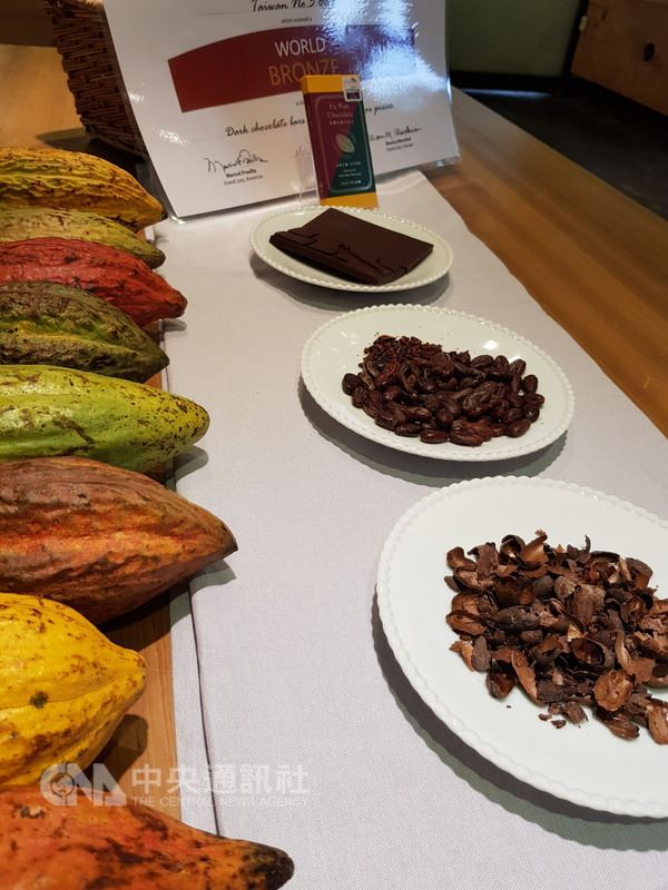 亞太區世界巧克力大賽(ICA)今年將首度在台灣舉辦。ICA主席克里斯提(Martin Christy)在記者會中以視訊表示,2017年亞太區的比賽,評審團對來自台灣的巧克力及可可豆的優良品質、還有台灣人的熱情態度印象深刻。中央社記者郭芷瑄攝 107年6月14日
