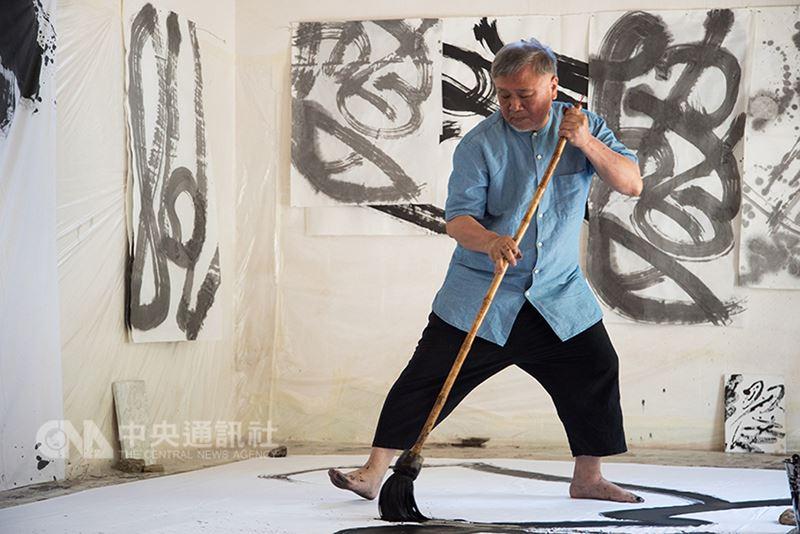 台灣藝術家張耀煌將在義大利展出以水墨技法創作的藝術作品。(美德藝術文化基金會提供)中央社記者黃雅詩羅馬傳真  107年6月15日