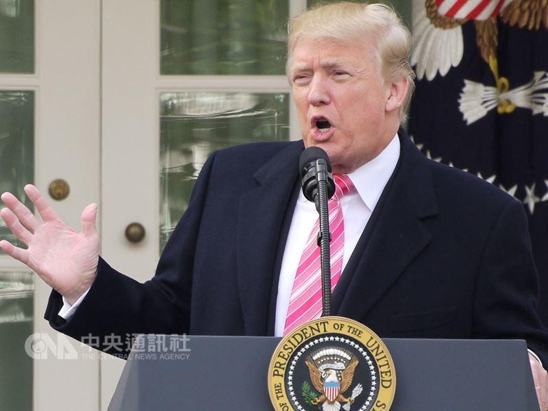 圖為美國總統川普。(中央社檔案照片)