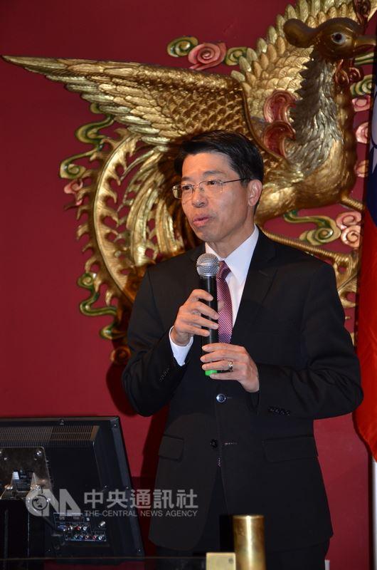 駐加拿大代表陳文儀指出,中國要求加航等私人企業改變台灣名稱,否則施加處罰,是在創造「非典型關稅障礙」不良先例。(渥太華僑界提供)中央社記者胡玉立多倫多傳真  107年6月16日