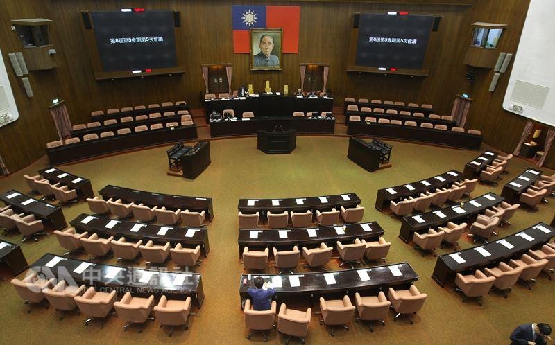 立法院會擬19日處理軍改案。圖為立法院議場。(中央社檔案照片)