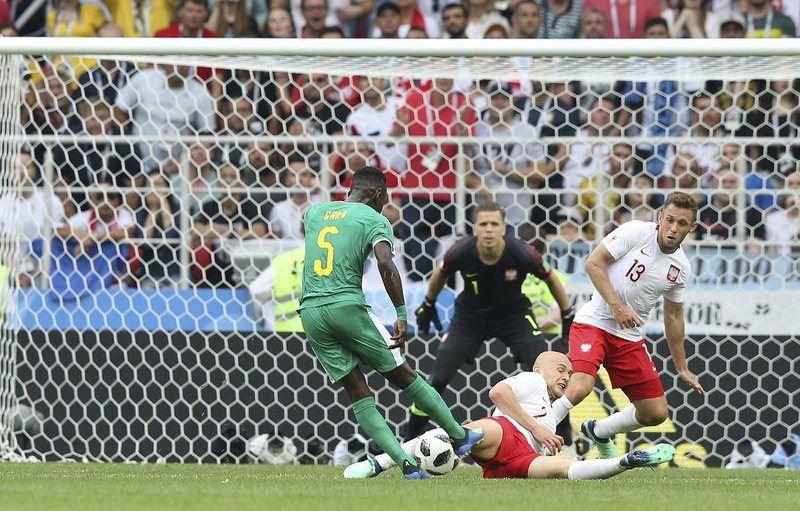 世界盃再爆冷門,世界排名第8的波蘭19日以1比2敗給排名第27的塞內加爾。(達志提供)