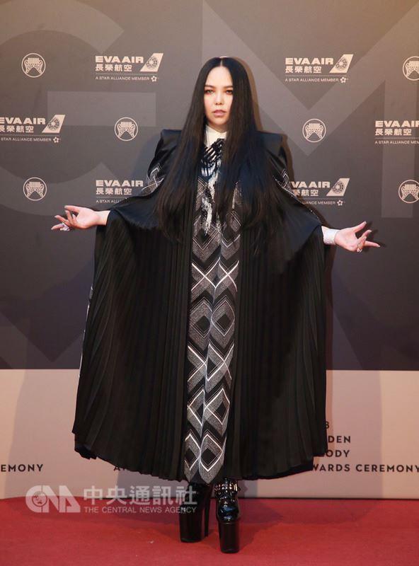 第29屆金曲獎23日晚間在台北小巨蛋頒獎,角逐4度封后的張惠妹,最終無緣獲獎。(中央社檔案照片)