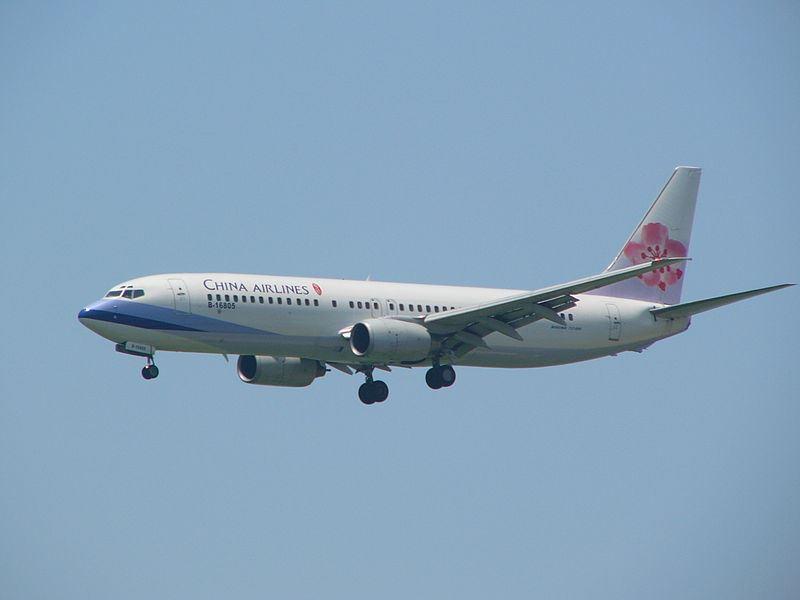 中華航空170航班8日原訂降落日本富山機場,因天候惡劣轉降中部國際機場,又因燃油不足獲准優先降落。圖為華航波音737-800同型客機。(圖取自維基共享資源;作者Ellery,CC BY-SA 3.0)