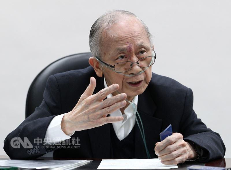 中華經濟研究院11日證實,董事長胡勝正10日傍晚病逝台大醫院,享壽78歲。(中央社檔案照片)