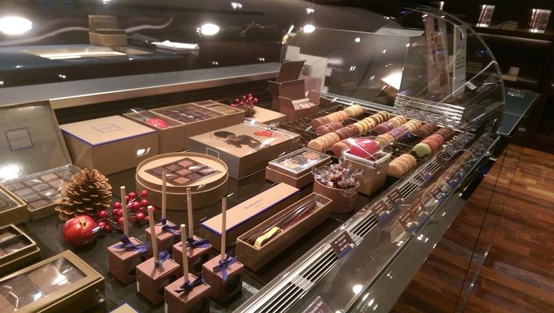 圖為Jean-Paul-Hévin-Chocolatier台北門市。(圖取自臉書facebook.com/Jean-Paul-Hévin-Chocolatier-Taiwan)