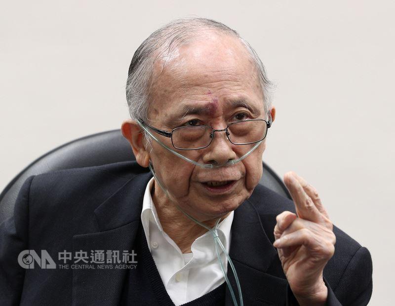 中華經濟研究院董事長胡勝正10日傍晚病逝。(中央社檔案照片)