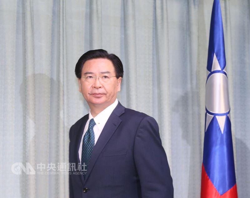 外交部發布新聞稿表示,外交部長吳釗燮一行將於12日至15日訪問薩國,16日至17日間轉赴貝里斯訪問。(中央社檔案照片)