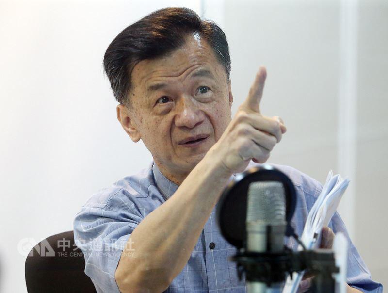 總統蔡英文將請邱太三(圖)出任國家安全會議諮詢委員一職,並將於近期上任。(中央社檔案照片)