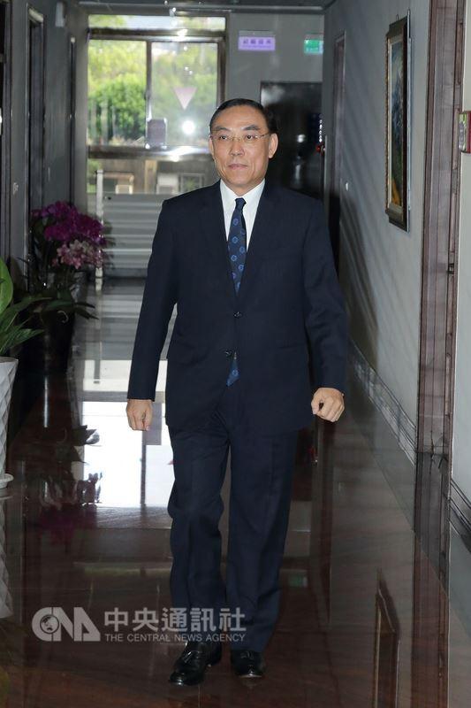 行政院12日宣布調查局長蔡清祥(圖)將接任法務部長,現任部長邱太三隨即與蔡清祥會談2個多小時。中央社記者蕭博文攝 107年7月12日