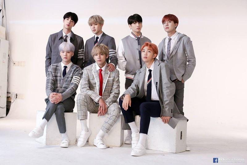 韓媒報導,南韓偶像團體防彈少年團(BTS)成員遭到死亡威脅,洛杉磯警方針對此事展開調查。(圖取自BTS臉書www.facebook.com)