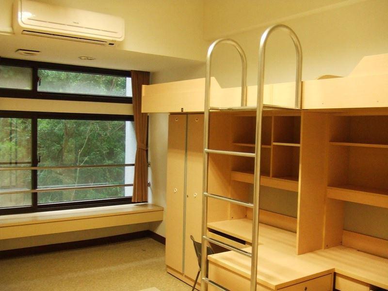 圖為長庚大學宿舍寢室。(圖取自長庚大學網頁studentaffairs.cgu.edu.tw)