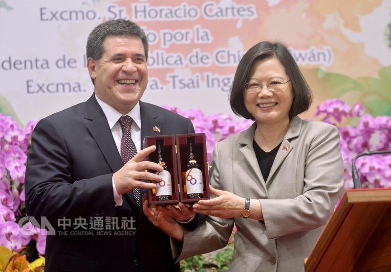 經濟學人:巴拉圭仍與台灣站在同一邊