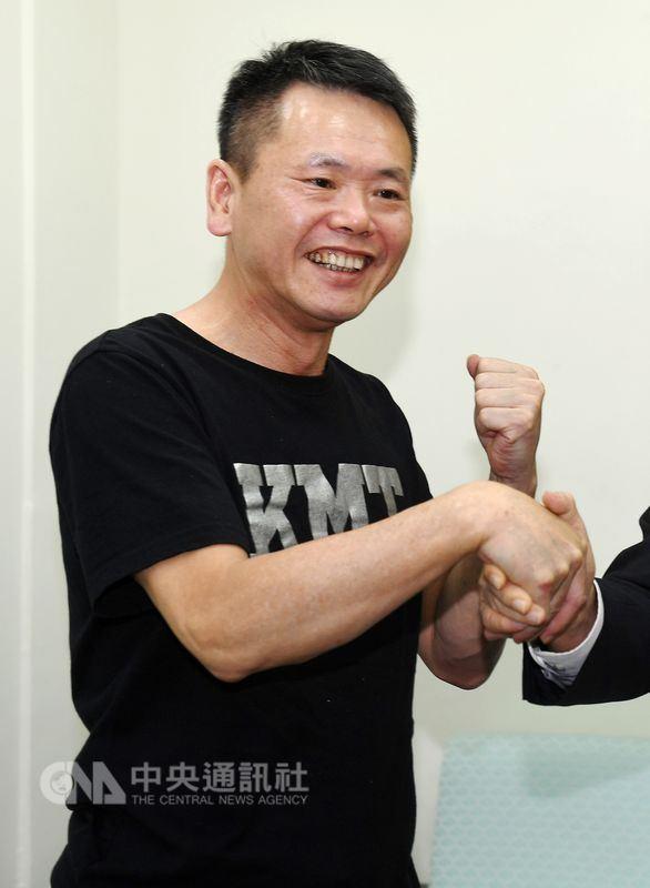 國民黨立委林為洲24日說,將順應民意參選新竹縣長。(中央社檔案照片)
