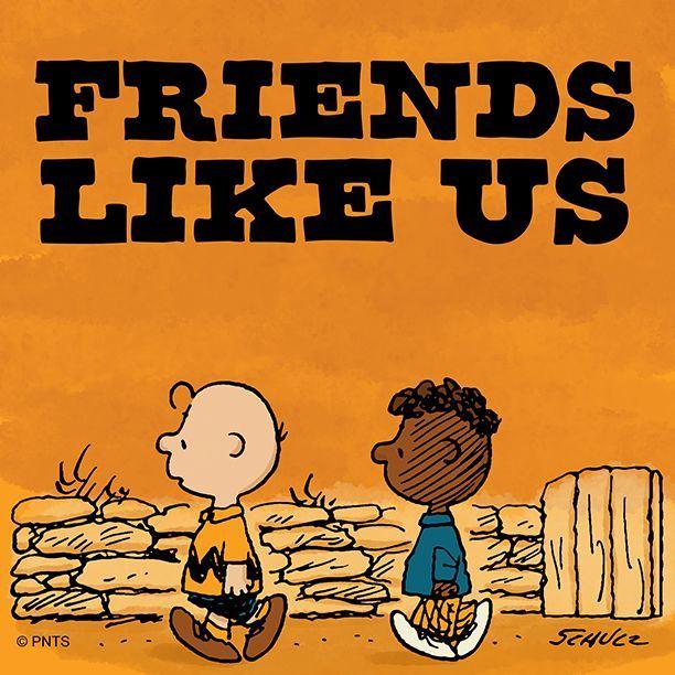 「史努比」漫畫裡的黑人小孩「富蘭克林」角色誕生的背後,其實有段追求種族平權的感人故事。(圖取自史努比臉書facebook.com/Snoopy)