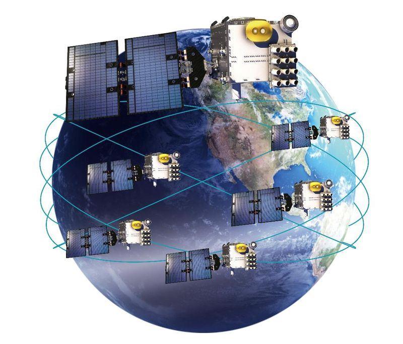 福衛七號六枚衛星。(國家太空中心提供)