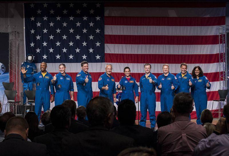 美國國家航空暨太空總署4日公布9名太空人名單。(圖取自NASA網頁www.nasa.gov)