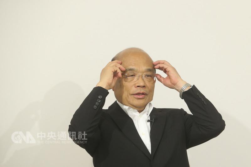 民進黨新北市長參選人蘇貞昌日前接受中央社專訪,提到政策主軸4大支柱的首要支柱就是「都市再生」。蘇貞昌說,若他當選市長,要拿新板特區做樣板,以新板特區都更速度與魄力,讓新北都市再生,台灣目前最需要的就是都更。中央社記者吳家昇攝  107年8月8日