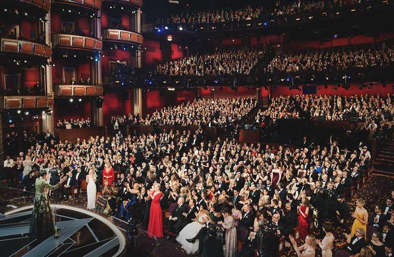 奧斯卡金像獎主辦單位美國影藝學院8日宣布,將增加「最受歡迎電影傑出成就獎」等新決定。圖為2018年3月第90屆奧斯卡頒獎典禮場景。(圖取自美國影藝學院臉書www.facebook.com/TheAcademy)