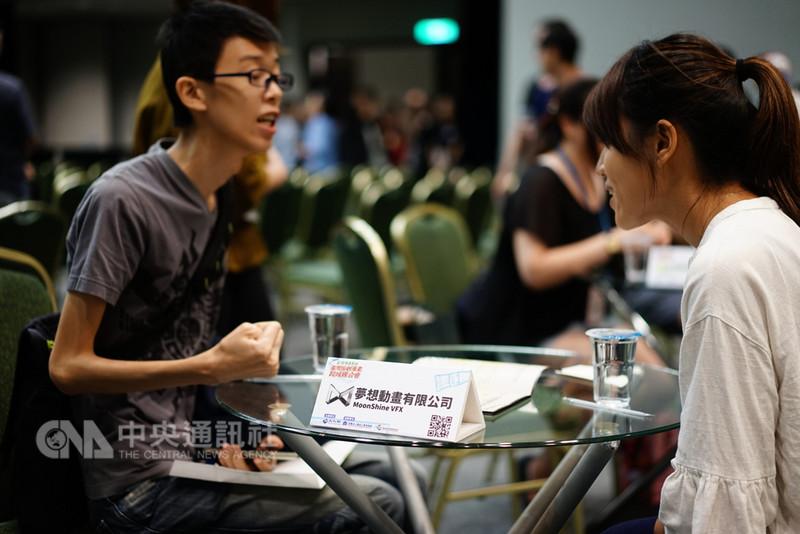 文化部9日在台北國際會議中心舉行台灣原創漫畫跨域媒合會,會中邀請橫跨出版商、動畫公司、影視製作公司、布袋戲企業等業者代表與會,暢談IP跨域合作經驗。(文化部提供)中央社記者江佩凌傳真 107年8月9日