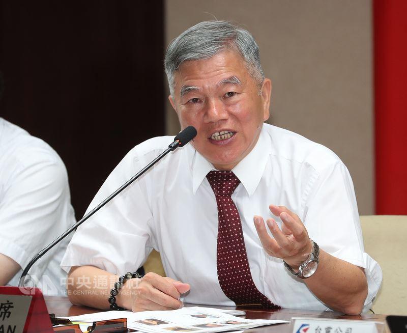 經濟部長沈榮津9日表示,電價調整有既定機制,並設有漲跌幅3%限制,最終調整方式會尊重電價審議委員會決定。(中央社檔案照片)