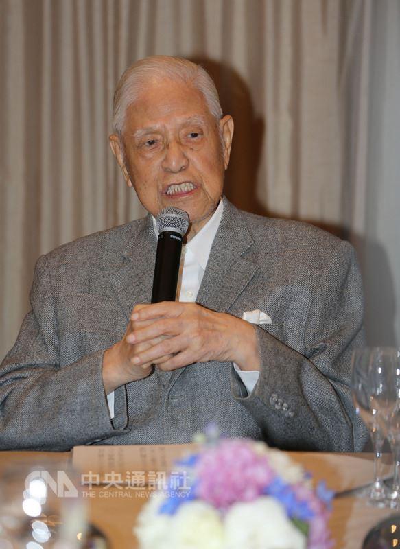 前總統李登輝認為柯文哲會勝選台北市長。圖為李登輝。(中央社檔案照片)