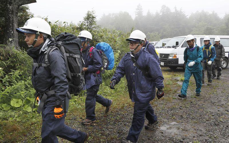 10日一架日本群馬縣載有9人的防災直升機不幸墜毀,確認9人全數罹難。(共同社提供)