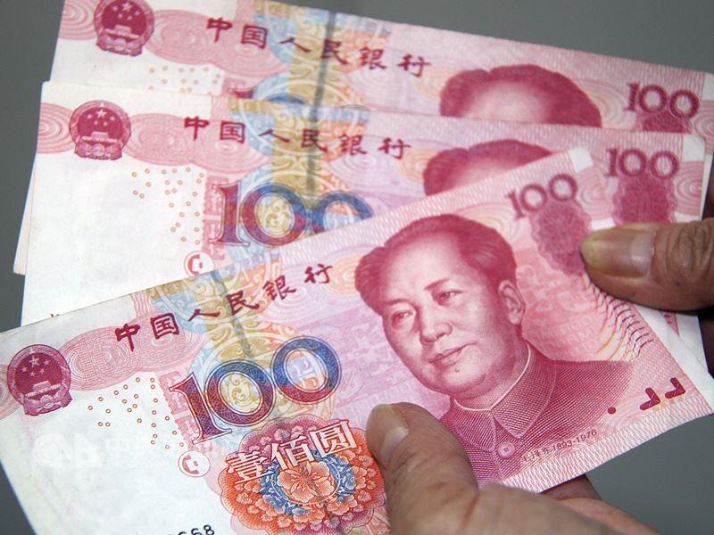 人民幣近來迅速走貶,中國央行10日晚間發布報告強調,不會將人民幣匯率作為工具來應對貿易爭端。(中央社檔案照片)