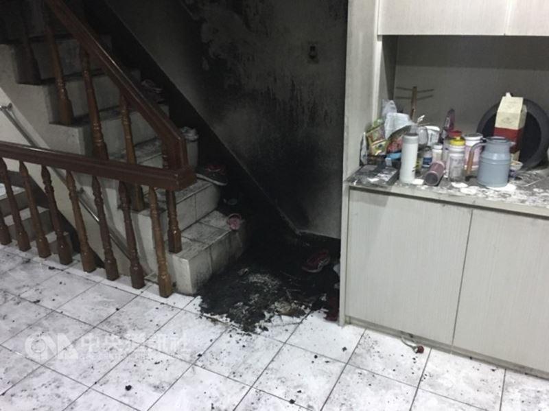 位於新莊區的衛福部立台北醫院7樓安寧病房,13日凌晨發生火警。(翻攝畫面)中央社記者林長順傳真 107年8月13日
