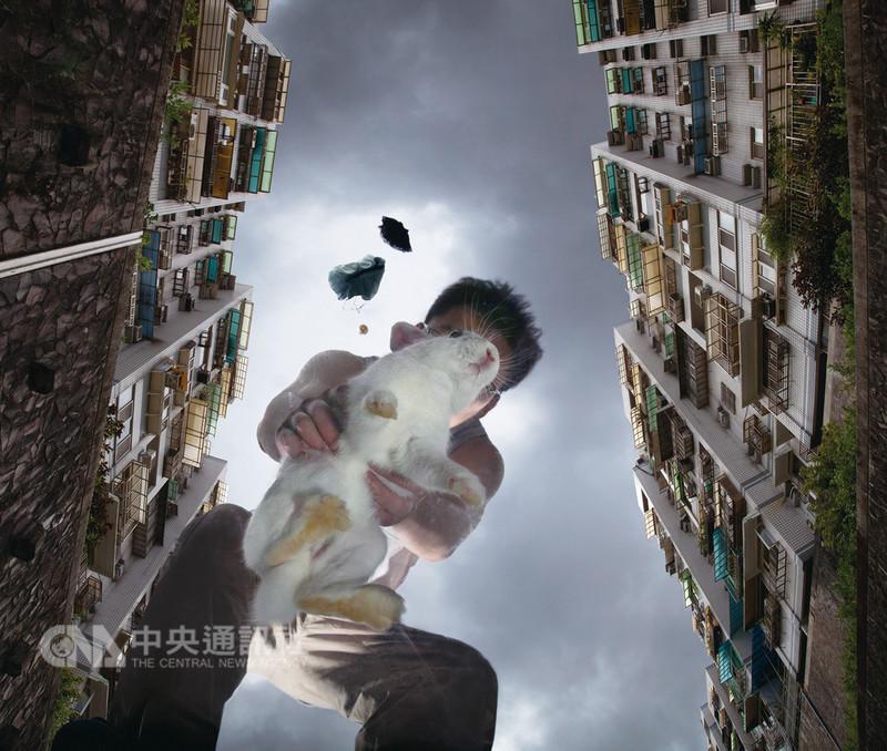 竹圍工作室創辦人蕭麗虹近期將她的藝品收藏及觀察心得集結寫成「不良嗜好:收藏台灣藝術40年」一書,呈現她來台40年間與每件作品或創作者間的連結與交流。圖為蕭麗虹收藏的攝影作品,何孟娟「小白」。(何孟娟提供)中央社記者魏紜鈴傳真 107年8月14日