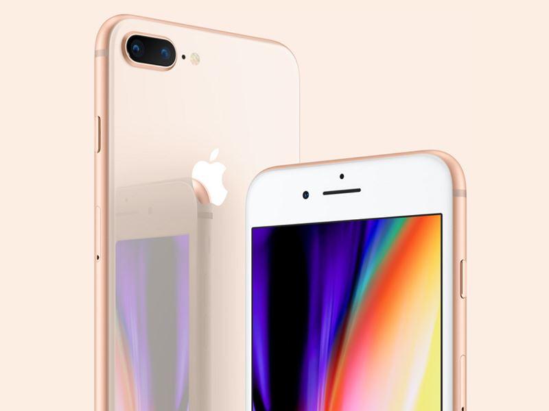 圖為iPhone 8。(圖取自蘋果公司網頁apple.com)