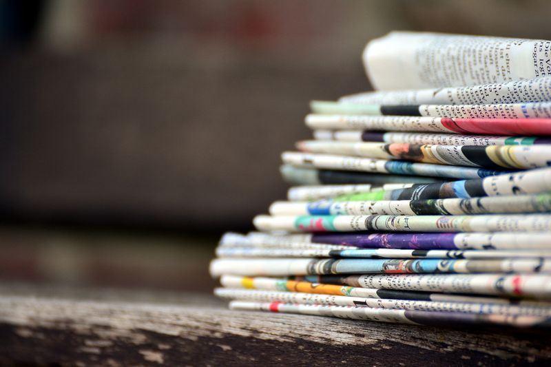 美國350家報社16日透過社論反擊美國總統川普,捍衛新聞自由,參議院中午也通過決議文。(圖取自Pixabay圖庫)