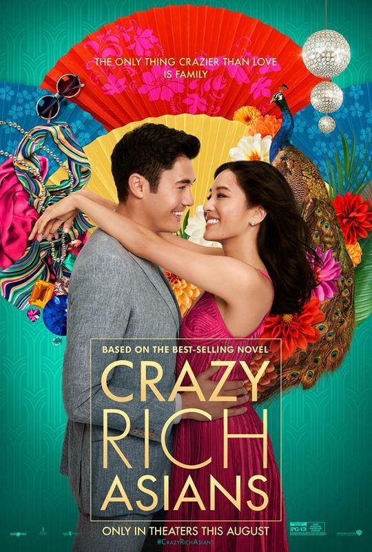 電影「瘋狂亞洲富豪」15日在北美上映,3天來進帳1602萬美元。(圖取自瘋狂亞洲富豪臉書www.facebook.com/CrazyRichAsiansMovie)