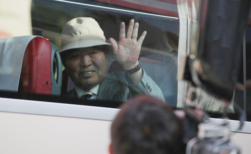 因韓戰分隔南北韓的離散家屬,將分批於20日-26日至北韓金剛山酒店團聚。(韓聯社提供)