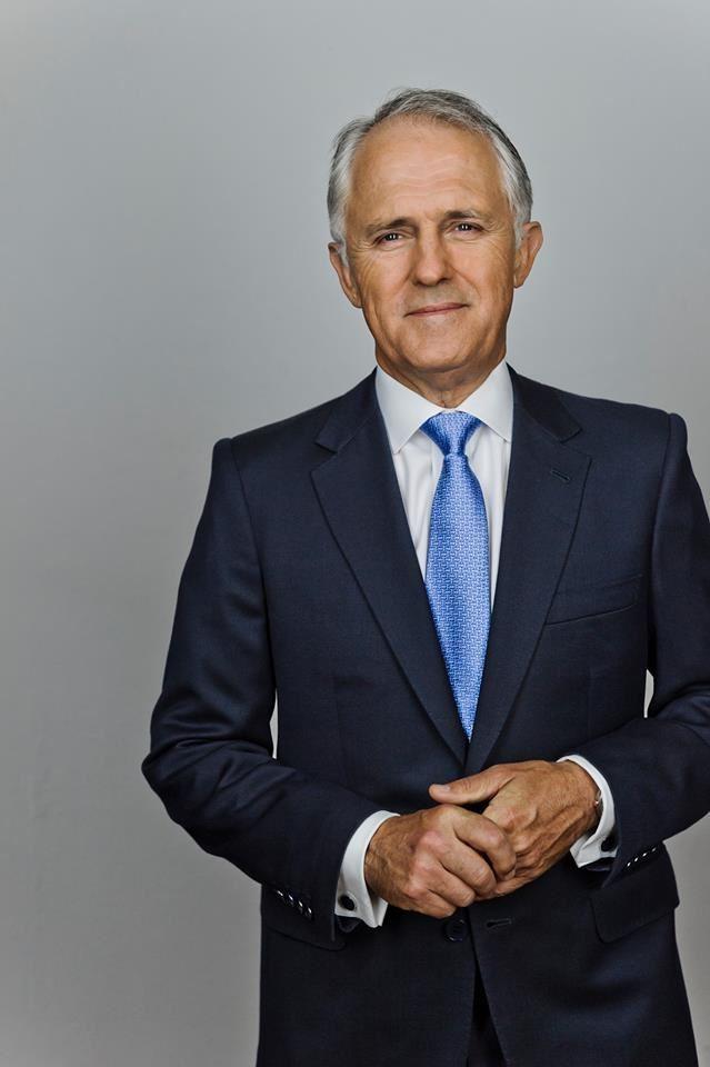 滕博爾(圖)不為黨內保守派所喜,24日召開黨團會議進行黨內投票,由莫里森勝出,接任澳洲總理。(圖取自滕博爾臉書www.facebook.com/malcolmturnbull)
