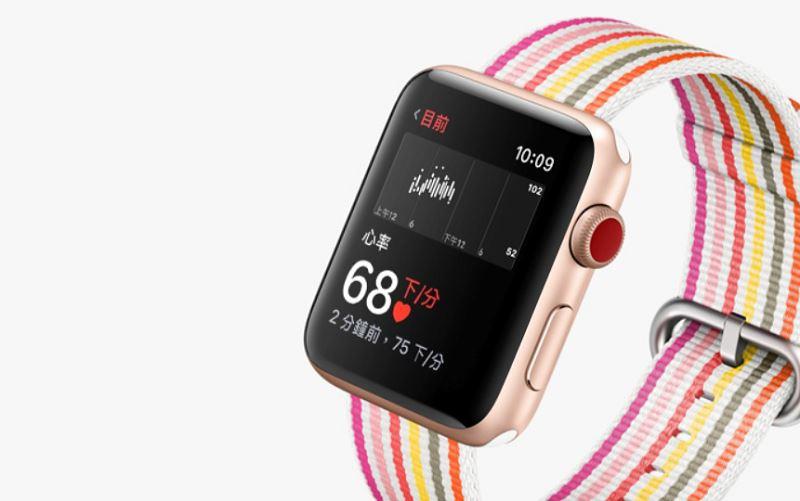 外媒報導,蘋果研發一套非侵入式技術,可檢測人體血液中的葡萄糖,未來可應用在Apple Watch等產品。(圖取自蘋果公司網頁apple.com)