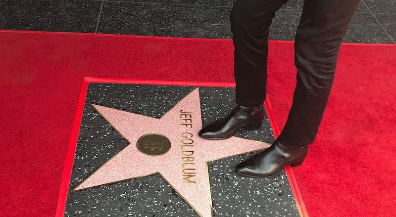 好萊塢星光大道是沿著洛杉磯好萊塢大道與藤街伸展的人行道,上面有2000多顆鑲有名人姓名的星形獎章。(圖取自好萊塢星光大道臉書facebook.com/OfficialHollywoodWalkofFame)