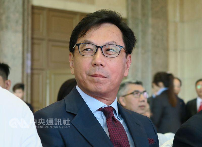 富邦金融控股公司27日透過重大訊息公告,副董事長蔡明忠辭職。(中央社檔案照片)