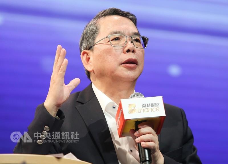 中華電信公司執行副總經理暨技術長林國豐(圖)28日出席第3屆「WHATs NEXT!5G到未來」數位行動產業高峰會,分享5G行動寬頻新未來。中央社記者謝佳璋攝 107年8月28日